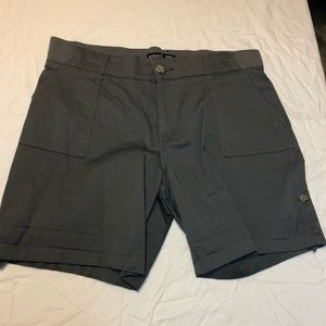 Riders by Lee mid rise gray shorts